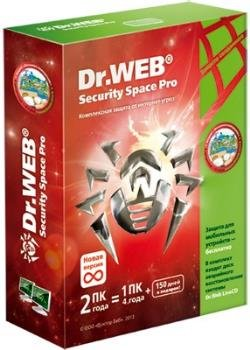Антивирус - Dr.Web Security Space 11.0.5.8020