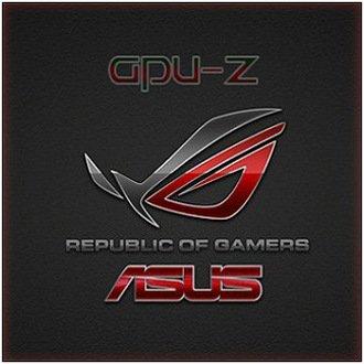 Характеристики видеокарты - GPU-Z 2.4.0 + ASUS ROG Skin