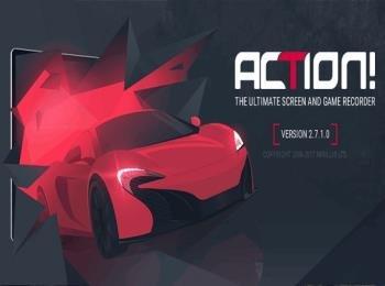 Запись изображения в видеофайл - Mirillis Action! 2.7.1