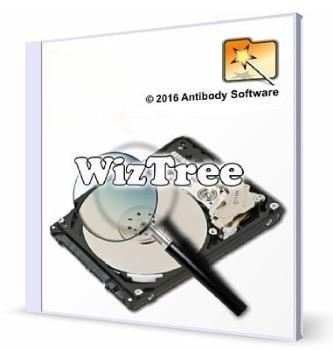 Анализатор дискового пространства - WizTree 3.10 Portable
