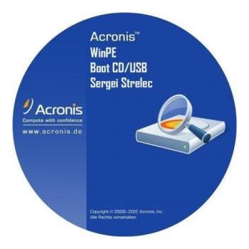 Загрузочный диск - Acronis WinPE Sergei Strelec (x64) 2017.09.21