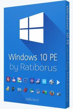 Загрузочный диск - Windows 10 PE (x86/x64) v.5.0.7 by Ratiborus