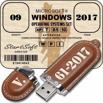 Загрузочная флешка Windows - Plus MinstAll by StartSoft 61-2017 Full