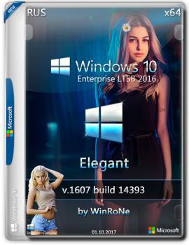 Windows 10 Enterprise LTSB 2016 x64 Elegant by WinRoNe