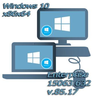 Windows 10x86x64 Enterprise 15063.632 Русская(Uralsoft)