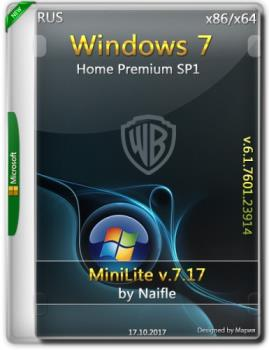 Windows 7 Home Premium SP1 x86/x64 miniLite v.7.17 by naifle