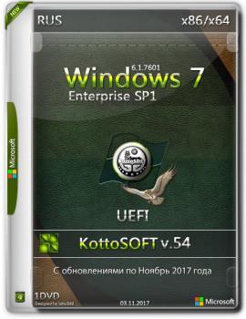 Windows 7 SP1 Корпоративная KottoSOFT (x86\x64)