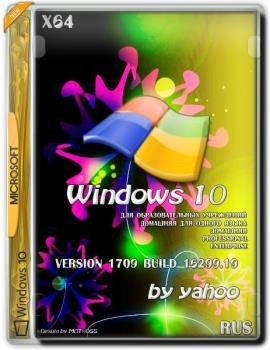 Сборка Windows 10 v.1709 build 16299.19 by yahoo (x64)
