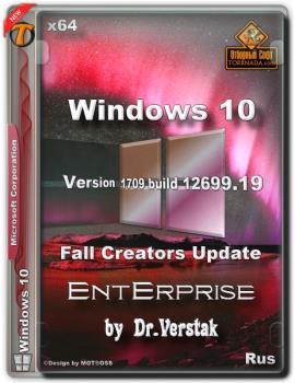 Wіndоws 10 Еntеrрrіsе v.1709 build 12699.19 by Dr.Verstak (x64)