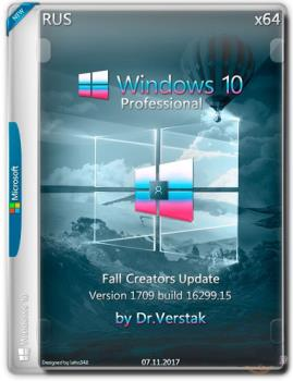 Wіndоws 10 Professional v.1709 build 12699.19 by Dr.Verstak (x64)