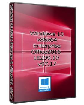 Windows 10 32/64bit Enterprise + Office2016 16299.19