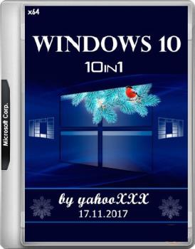Windows® 10 v.1709 build 16299.64 10in1 by yahoo (x64)