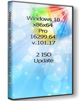 Windows 10 x86x64 Профессиональная 16299.64 (Uralsoft)