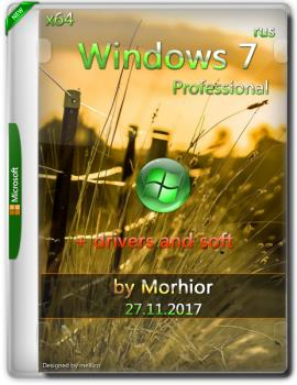 Windows 7 Professional x64 by Morhior + Divers and Soft