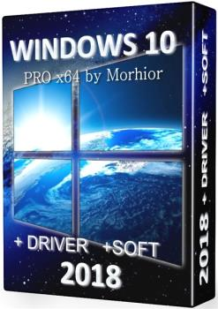 Windows 10 PRO x64 (2018) by Morhior + drivers and soft