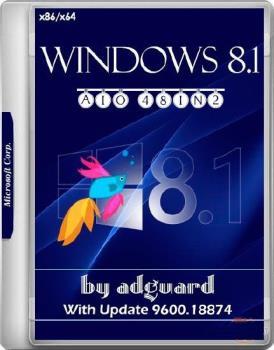 Сборка Windows 8.1 with Update (x86-x64) AIO [48in2] adguard