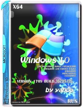 Windows 10 v.1709 build 16299.125 by yahoo (x64)