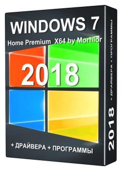 Windows 7 Home Premium x64 +Update 2018 +Soft +DriverPack online