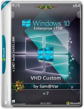 Windows 10 Ent LTSB 2017 64-bit ru VHD custom