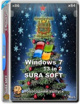 Windows 7 SP1 with Update SURA SOFT (x86/x64)