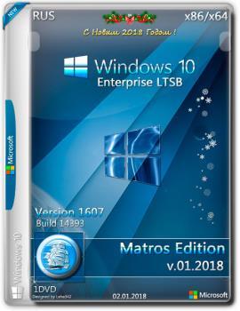 Windows 10 Enterprise LTSB x86 x64 Matros 01 2018