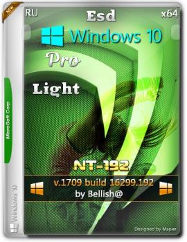 Windows 10 Pro [x64 Esd] Light [NT-192] [Bellish@]