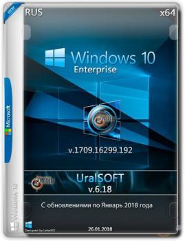 Windows 10x86x64 Enterprise 16299.192 (Uralsoft)
