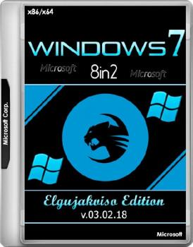 Сборка Windows 7 SP1 4in1 (x86/x64) Elgujakviso Edition (v.03.02.18)