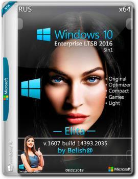 Windows 10 LTSB-2016 Elita (x64) Bellish@ [Ru-Ru].iso NT=(14393.2035)