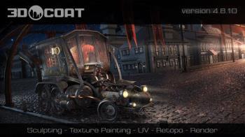 Создание 3D-моделей - Pilgway 3D-Coat 4.8.10