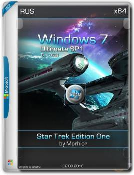 Windows 7 Ultimate Star Trek Edition One by Morhior