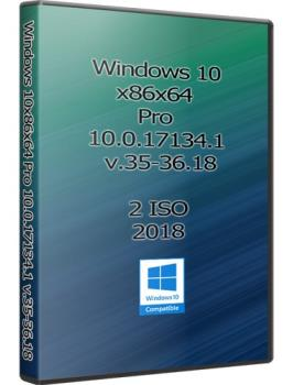 Windows 10x86x64 Pro 10.0.17134.1 (Uralsoft)