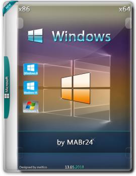 Сборка Windows 7 / 8.1 / 10 {x86/x64 (2018.05.12) by MABr24