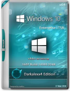 Windows 10 Enterprise LTSB {x64} Darkalexx4 Edition / 1607 Build 14393.2248