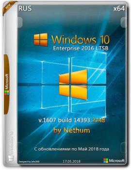 Windows 10 LTSB {x64} Build v.1607 build 14393.2248 / by Nethum