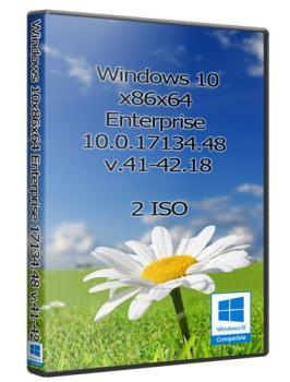 Windows 10x86x64 Enterprise 10.0.17134.48 (Uralsoft)