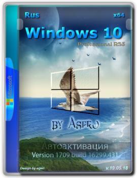 Windows 10 Pro RS3 {x64} / v.19.05.18 / by Aspro