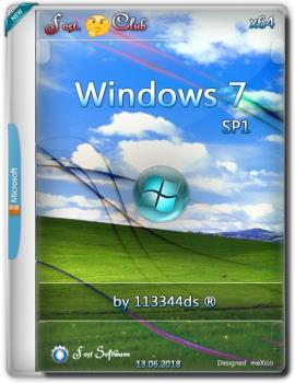 Windows 7 Pro SP1 {x64} 18.06.14 / by 113344ds