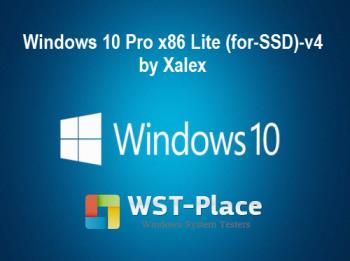 Windows 10 Pro Lite (for-SSD)-v4 [by Xalex] (x86)