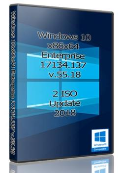 Windows 10x86x64 Enterprise 17134.137 (Uralsoft)