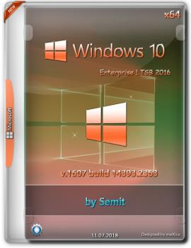 Windows 10 Enterprise LTSB 2016 / v 1607 build14393.2363 {x64} by Semit