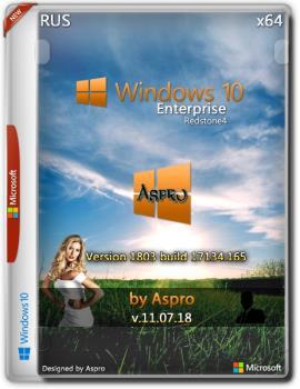 Windows 10 Корпоративная RS4 by Aspro (x64)
