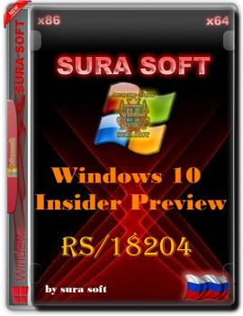 Windows 10 Insider Preview 18204.1001.180721-1657.RS PRERELEASE CLIENTCOMBINED UUP Redstone 6.by SU®A SOFT x86 x64[2in2]