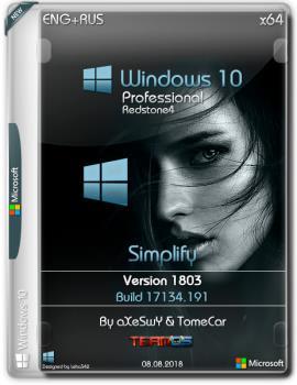 Windows 10 Pro {x64} v.1803 build 17134.191