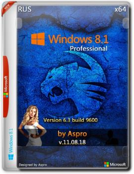 Windows 8.1 Pro x64 RUS v.11.08.18 by Aspro