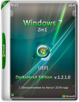 Windows 7 2x1 (x64) Darkalexx4 Edition (ver. 1.2.1.0) UEFI