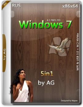 Windows 7 x64-x86 5in1 WPI & USB 3.0 + M.2 NVMe by AG 09.2018