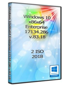 Windows 10x86x64 Enterprise 17134.286