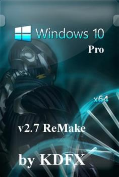 Windows 10 Pro x64 by KDFX v2.7(ReMake)