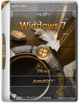 Windows 7 SP1 {176 in 2} KottoSOFT (x86\x64)